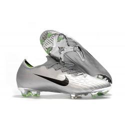 Nike Tacos de Futbol Mercurial Vapor XII Elite FG - Plata Negro