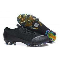 Nike Tacos de Futbol Mercurial Vapor XII Elite FG - Negro Blanco