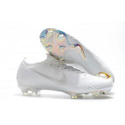 Nike Tacos de Futbol Mercurial Vapor XII Elite FG - Blanco