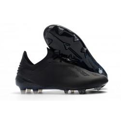 Tacón de Fútbol adidas X 18.1 FG - Negro