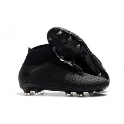 Nike Hypervenom Phantom 3 FG ACC Zapatos de Futbol - Negro Plata