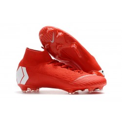 Nike Mercurial Superfly VI 360 Elite FG ACC - Rojo Blanco