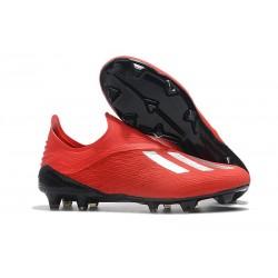 Botas de Fútbol X 18+ de adidas - Rojo Plata