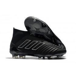 Adidas Predator 18+ FG Botas y Zapatillas de Fútbol - Shadow Mode Negro