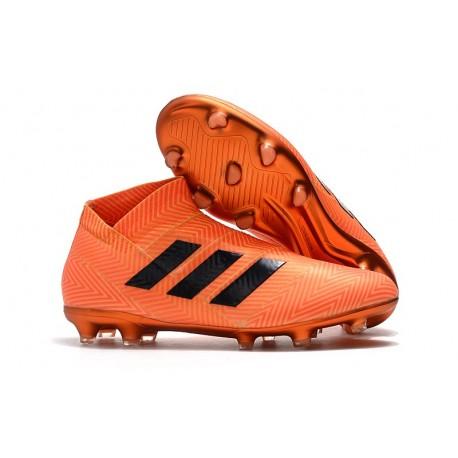 de Nemeziz 18FG Naranja Negro Botas Fútbol adidas SLVpGUqzM
