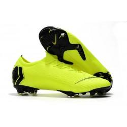 Nike Mercurial Vapor 12 Elite FG ACC Zapatillas de Fútbol - Voltio Negro
