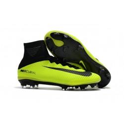Nike Mercurial Superfly 5 FG ACC Botas de Fútbol -Verde Negro