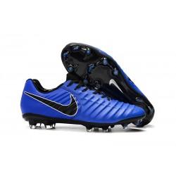 Nike Botas de Futbol Tiempo Legend VII Elite FG - Azul Negro