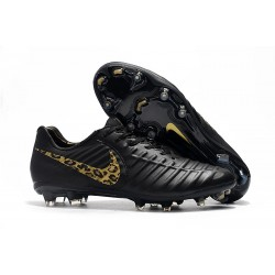 Nike Botas de Futbol Tiempo Legend VII Elite FG - Negro Oro