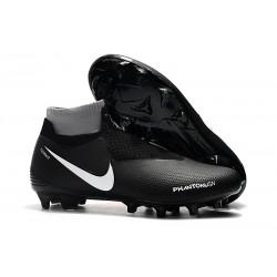 Nike Tacos de Futbol Phantom VSN Elite DF FG - Negro Rojo Bianca