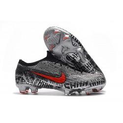 Neymar Nike Mercurial Vapor 12 Elite FG ACC Zapatillas de Fútbol - Negro Rojo