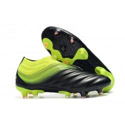 Zapatos de Fútbol adidas Copa 19+ FG - Negro Verde