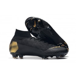 Nike Mercurial Superfly 6 Elite DF FG Zapatillas - Negro Oro