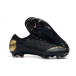 Nike Mercurial Vapor XII Elite FG Botas de Fútbol - Negro Oro
