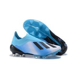 Botas de Fútbol X 18+ de adidas - Azul Negro