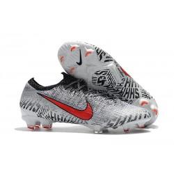 Nike Mercurial Vapor XII Elite FG Botas de Fútbol - Neymar Blanco Rojo