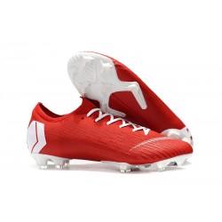 Nike Mercurial Vapor XII Elite FG Botas de Fútbol - Rojo Blanco