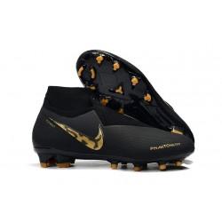 Nike Tacos de Futbol Phantom VSN Elite DF FG - Nero Oro