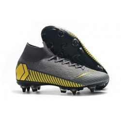 Nike Mercurial Superfly 360 Elite Anti-Clog SG-Pro Gris Amarillo