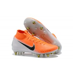 Nike Mercurial Superfly 360 Elite Anti-Clog SG-Pro Arancione Blanco