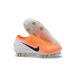 Nike Mercurial Vapor XII Elite FG Botas de Fútbol - Naranja Blanco