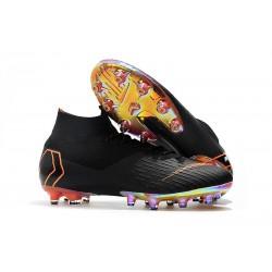 Nike Zapatos Mercurial Superfly 6 Elite AG-Pro Negro Natanja