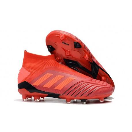 Zapatillas de Fútbol adidas Predator 19+ FG Rojo