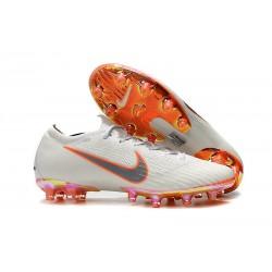 Bota de fútbol Nike Mercurial Vapor XII Elite AG-Pro Blanco Naranja