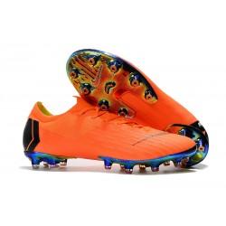 Bota de fútbol Nike Mercurial Vapor XII Elite AG-Pro Naranja Negro