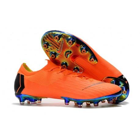 Bota de fútbol Nike Mercurial Vapor XII Elite AG-Pro Arancio Negro