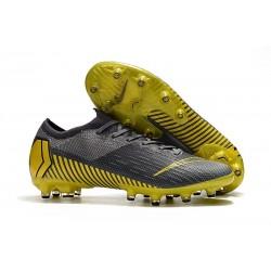 Bota de fútbol Nike Mercurial Vapor XII Elite AG-Pro Gris Amarillo