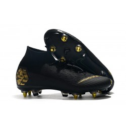 Nike Mercurial Superfly 360 Elite Anti-Clog SG-Pro Negro Or