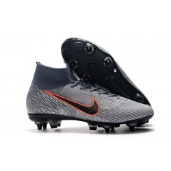Nike Mercurial Superfly 360 Elite Anti-Clog SG-Pro Gris Naranja