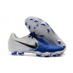 Zapatillas de Fútbol Nike Phantom Venom Elite FG Blanco Azul