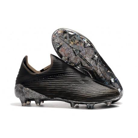 Botas de Fútbol adidas X 19 + FG Negro