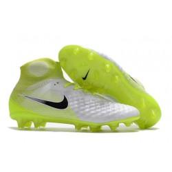 Botas de fútbol Nike Magista Obra II FG Hombres - Blanco Negro