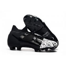 Zapatillas de Futbol Nike Mercurial GS 360 FG - Negro Blanco