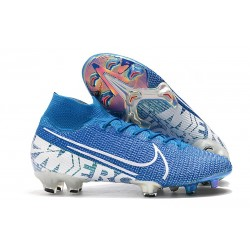 Tacos Nike Mercurial Superfly VII Elite FG - New Lights Azul
