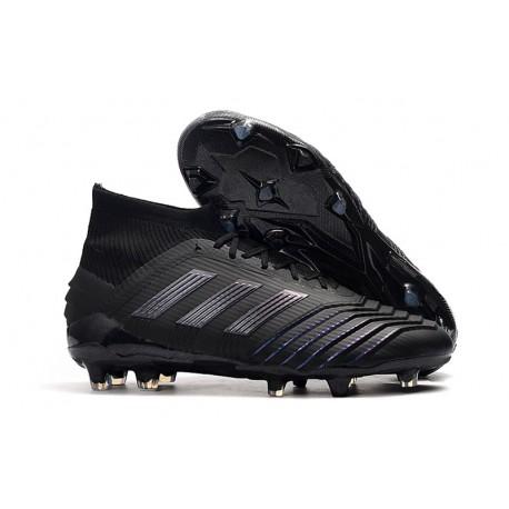 Tacón de Fútbol adidas Predator 19.1 FG - Negro