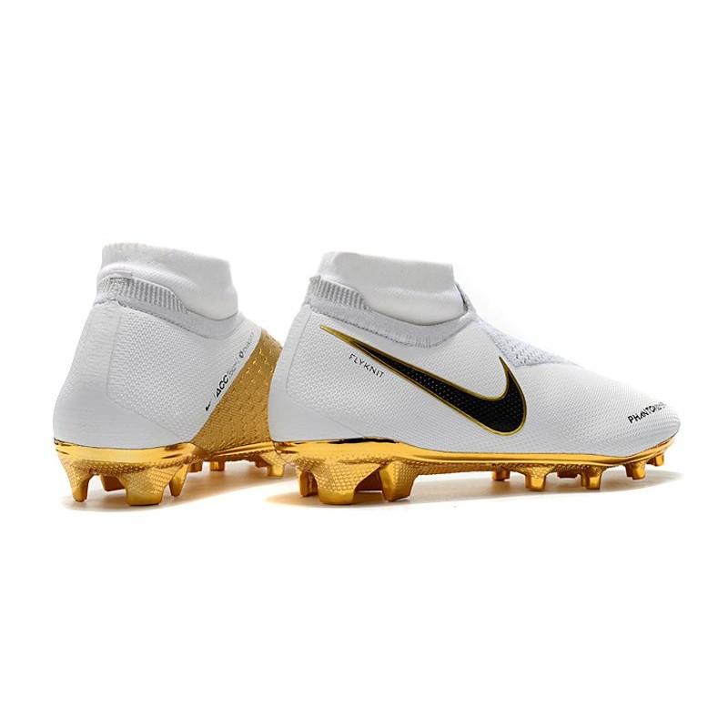 DF Phantom Elite Nike Blanco FG de Vision Oro Futbol Tacos XwikuTOZP