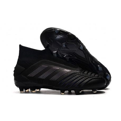 Zapatillas de Fútbol adidas Predator 19+ FG Negro