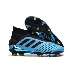 Zapatillas de Fútbol adidas Predator 19+ FG Azul Negro
