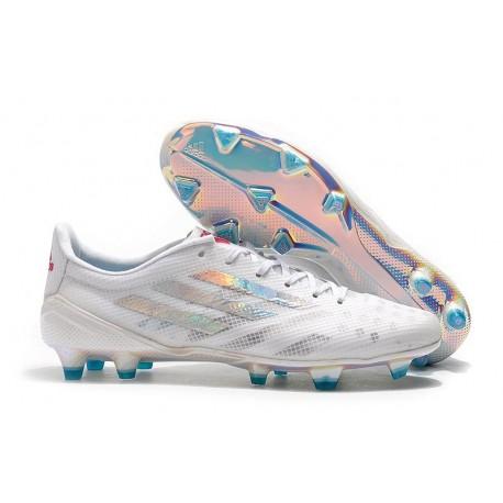 Zapatos de Futbol adidas X 19.1 FG Blanco Cian