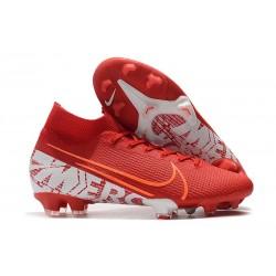 Tacos Nike Mercurial Superfly VII Elite FG - Rojo Blanco