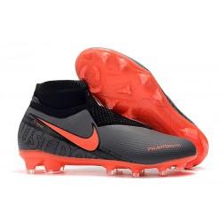 Nike Phantom Vision Elite FG Bota de Fútbol Negro Rojo