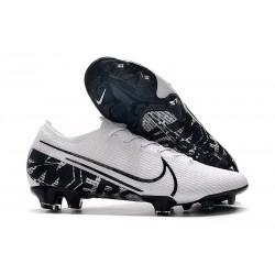 Nike Mercurial Vapor 13 Elite FG Botas de Fútbol Blanco Negro