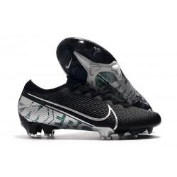 Nike Mercurial Vapor 13 Elite FG Botas de Fútbol Negro Blanco
