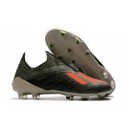 Botas de Fútbol adidas X 19 + FG Verde Naranja Chalk