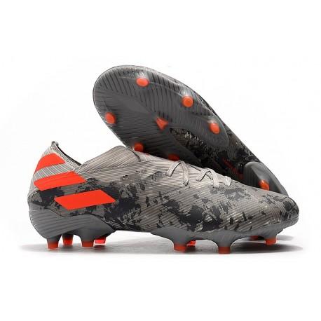 ajuste clásico sobornar auténtico varios diseños Bota de fútbol adidas Nemeziz 19.1 FG - Gris Naranja Chalk