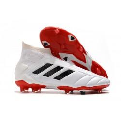 adidas Predator Mania 19+FG ADV Zapatos de Fútbol - Blanco